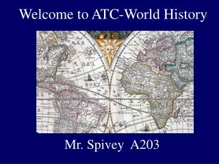 Welcome to ATC-World History