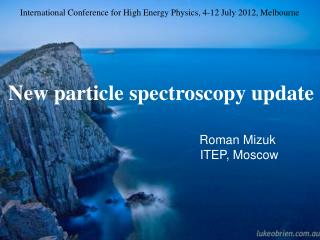 New particle spectroscopy update