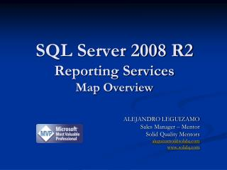 SQL Server 2008 R2 Reporting Services Map Overview