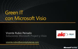 Green IT con Microsoft Visio