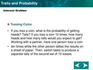 Tossing Coins