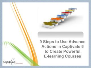 9 Steps to Use Advance Actions in Captivate 6 to Create Powe