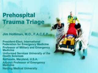 Prehospital Trauma Triage