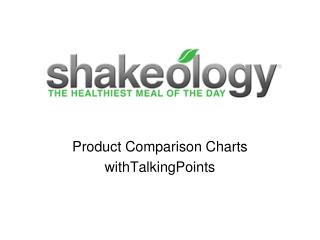 Product  Comparison Charts withTalkingPoints