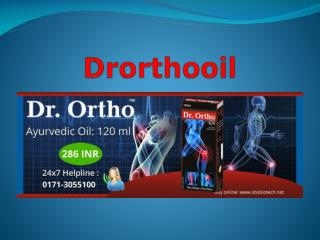 DR. ORTHO AYURVEDIC OIL