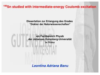 108 Sn studied with intermediate-energy Coulomb excitation