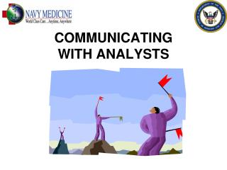 COMMUNICATING  WITH ANALYSTS