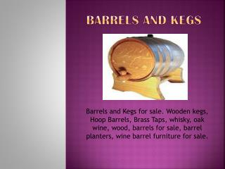 Wine barrel planters | oak wine barrel