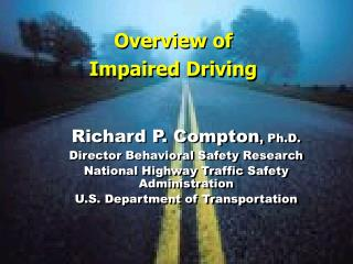 Overview of Impaired Driving