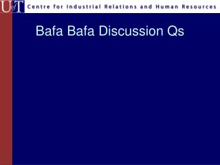 Bafa Bafa Discussion Qs