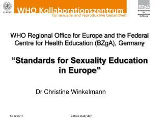 Dr Christine Winkelmann