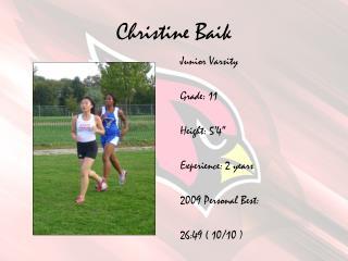 Christine Baik