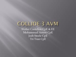 COLLIDE-3 AVM