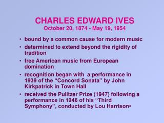 bound by a common cause for modern music determined to extend beyond the rigidity of tradition free American music from