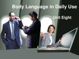 Body Language in Daily Use