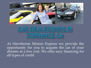 Used Cars Hawthorne CA