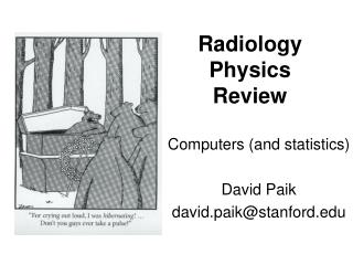 Radiology Physics Review