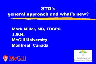 STD's general approach and what's new?