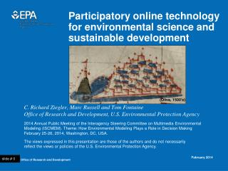 Participatory online technology for environmental science and sustainable development