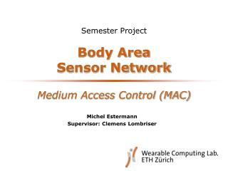 Body Area  Sensor Network