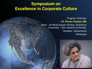 Symposium on Excellence in Corporate Culture