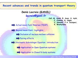 Recent advances and trends in quantum transport theory