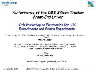 Performance of the CMS Silicon Tracker Front-End Driver