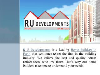 Construction service by Home Builders