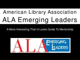 ALA Emerging Leaders