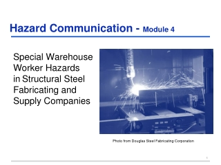 Hazard Communication - Module 4