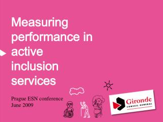 Measuring performance in active inclusion services