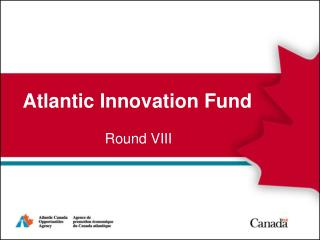 Atlantic Innovation Fund