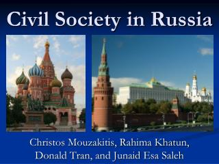 Civil Society in Russia
