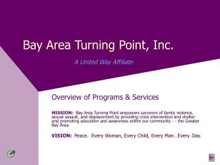 Bay Area Turning Point, Inc. A United Way Affiliate