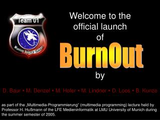 Welcome to the official launch of