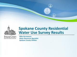 Spokane County Residential Water Use Survey Results