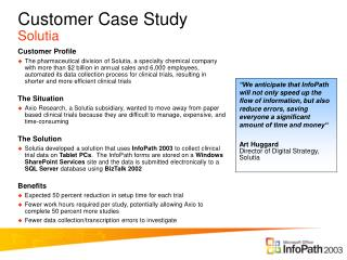 Customer Case Study Solutia