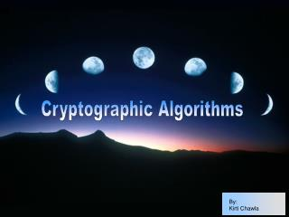 Cryptographic Algorithms