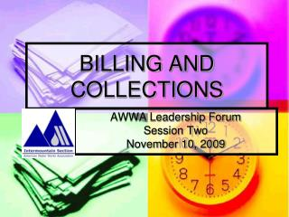 BILLING AND COLLECTIONS