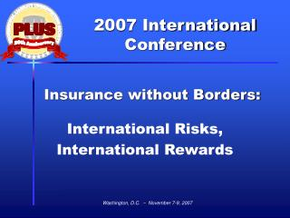 Insurance without Borders: