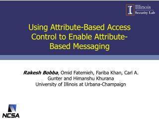 Using Attribute-Based Access Control to Enable Attribute-Based Messaging