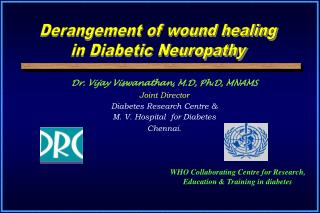 Dr. Vijay Viswanathan, M.D, Ph.D, MNAMS Joint Director Diabetes Research Centre &