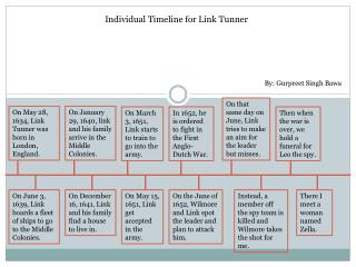 Individual Timeline for Link Tunner