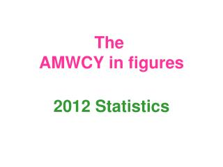 The  AMWCY in figures