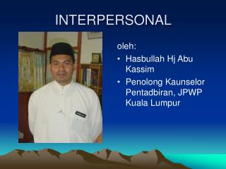 INTERPERSONAL