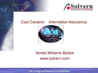 Cool Careers!    Information Assurance