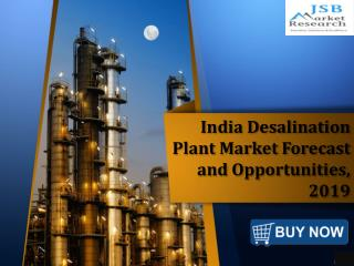 JSB Market Research: India Desalination Plant Market