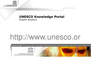 UNESCO Knowledge Portal Graphic Solutions