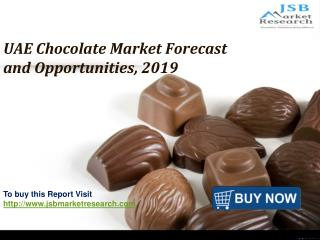 JSB Market Research: UAE Chocolate Market