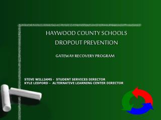 HAYWOOD COUNTY SCHOOLS DROPOUT PREVENTION